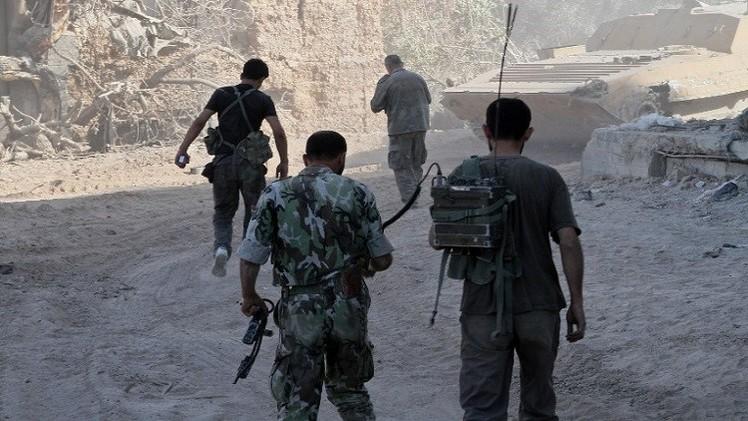الجيش السوري يتقدم في جوبر وريف حماة والمسلحون يسيطرون على مناطق في الجولان