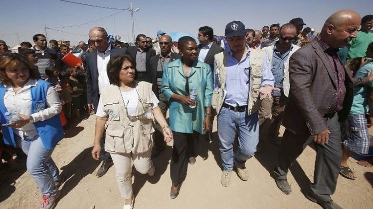 آموس: نحتاج المزيد من الإمكانات لمساعدة النازحين العراقيين