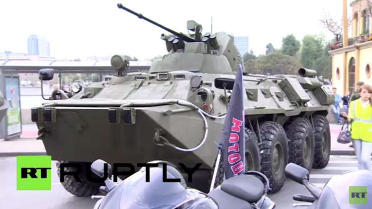 بالفيديو.. اختتام أول مهرجان من نوعه للجيش الروسي