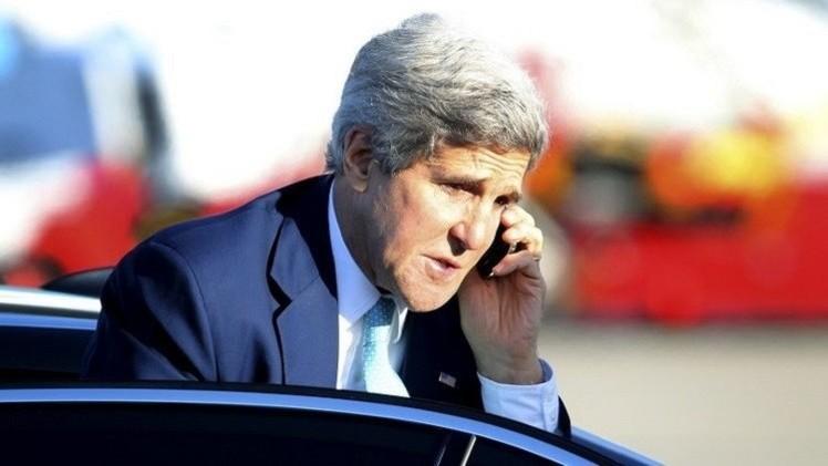 كيري: بعض الدول عرضت إرسال قوات برية لمواجهة