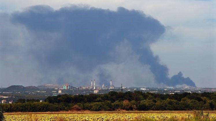 خروق محدودة لاتفاق وقف النار في دونيتسك