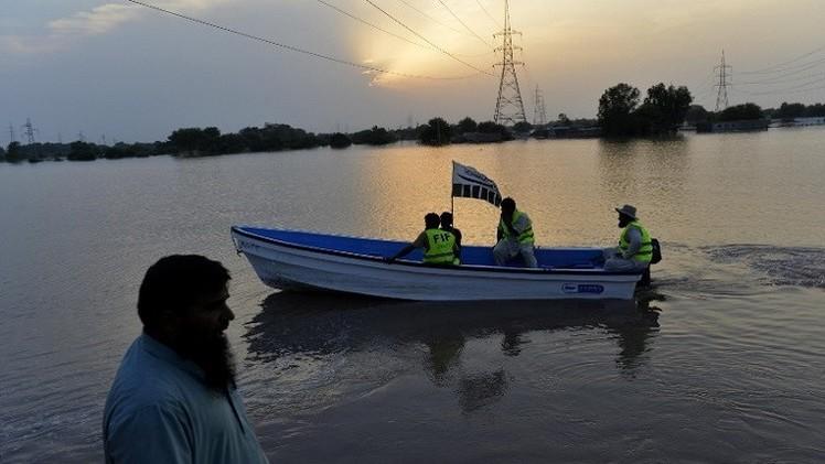 مقتل 17 شخصا إثر غرق مركب في باكستان