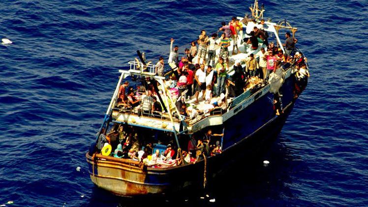 غرق مركب على متنه نحو 250 مهاجرا إفريقيا قرب سواحل ليبيا