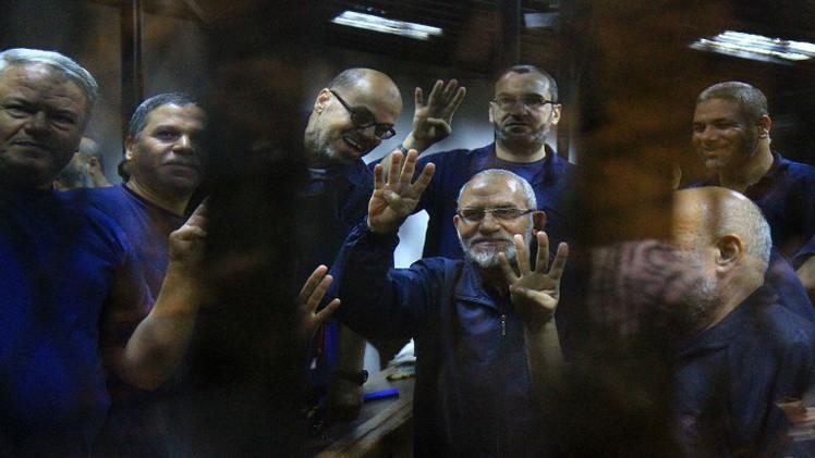 المؤبد لمرشد جماعة الإخوان بمصر و14 متهما