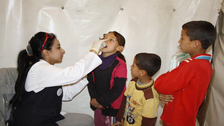 وفاة 5 أطفال في سورية جراء لقاح فاسد