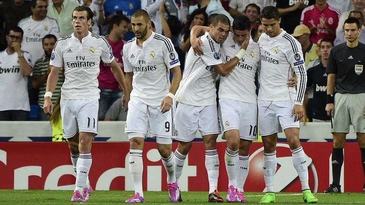 ريال مدريد يقسو على بازل في بداية حملة الدفاع عن لقب دوري الأبطال