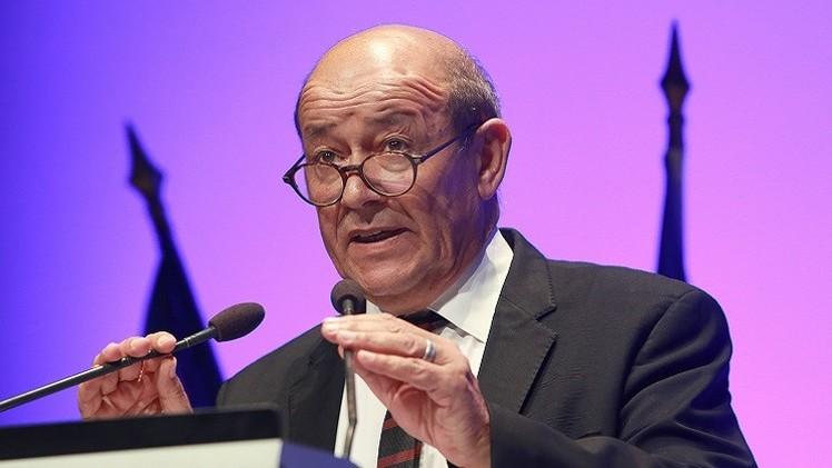 وزير الدفاع الفرنسي: مستعدون للتدخل في سورية تحت غطاء أممي