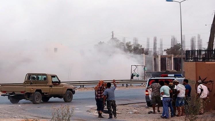 بنغازي .. مقتل تسعة في اشتباكات مسلحة قرب المطار