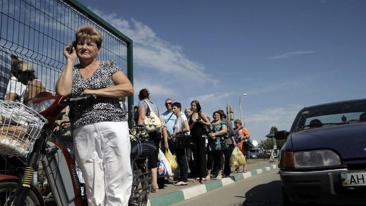 مئات اللاجئين الأوكرانيين يعودون إلى الوطن يوميا