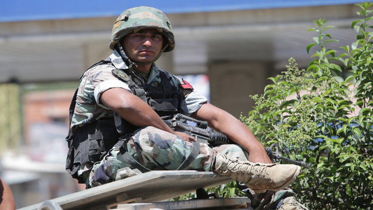 اختطاف جندي لبناني قرب عرسال