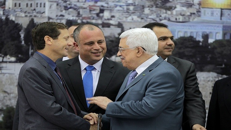 عباس يلتقي زعيم المعارضة الإسرائيلية
