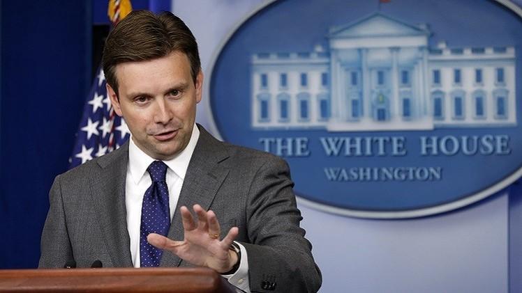 البيت الأبيض يرحب بانضمام فرنسا إلى العمليات ضد