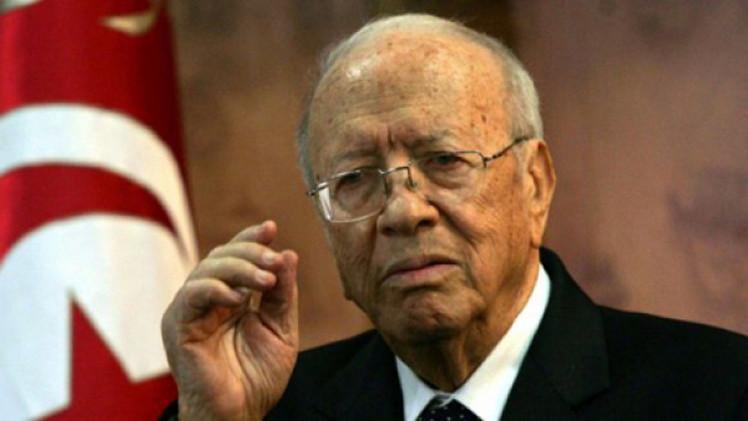 الرئاسة التونسية تنفي وجود مخطط لاستهداف قائد السبسي