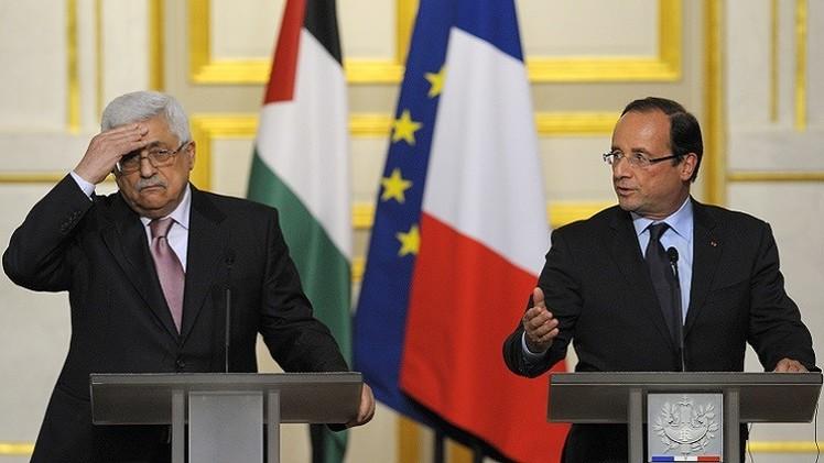 هولاند يعرض على عباس مبادرة جديدة للسلام