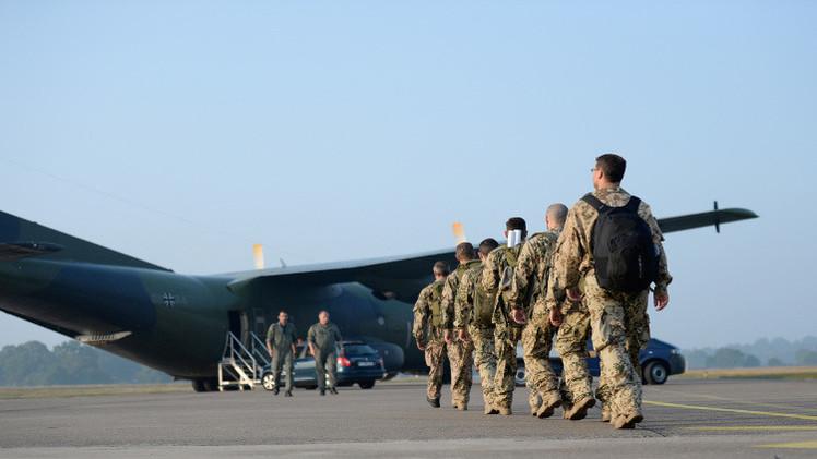 ألمانيا ترسل جنودا وأسلحة إلى كردستان العراق