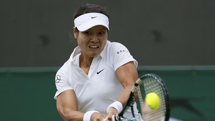 الصينية لي تعتزل رياضة التنس