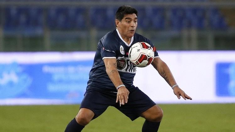 مارادونا: المخدرات منعتني أن أكون لاعبا خارقا