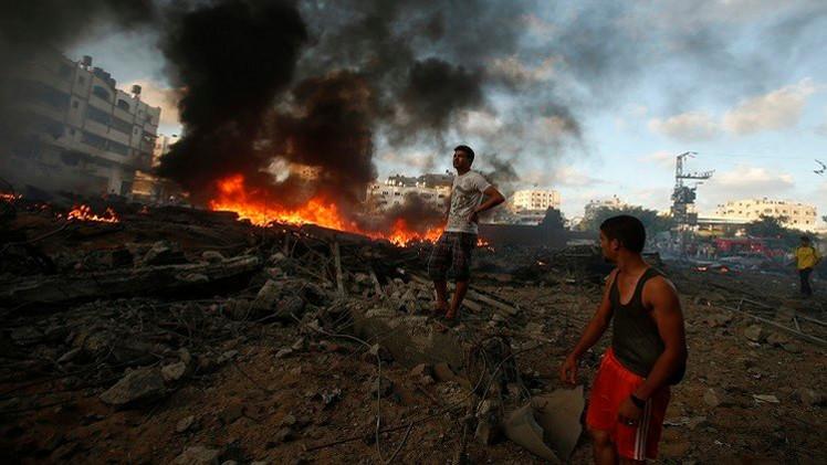 مقتل فلسطينيين بانفجار عبوة من مخلفات الحرب على غزة