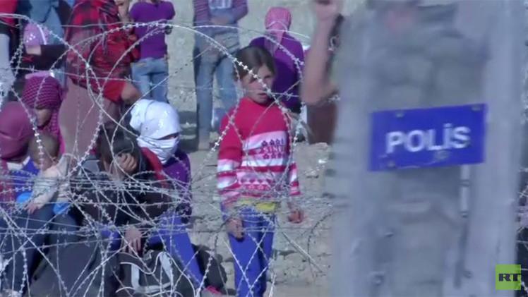 بالفيديو.. تركيا تغلق أبوابها امام لاجئين سوريين
