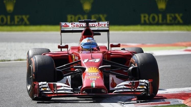ألونسو يسجل أفضل زمن في الجولة الأولى من التجارب الحرة لسباق جائزة سنغافورة