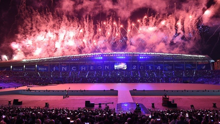 بالصور.. حفل افتتاح دورة الألعاب الآسيوية 2014
