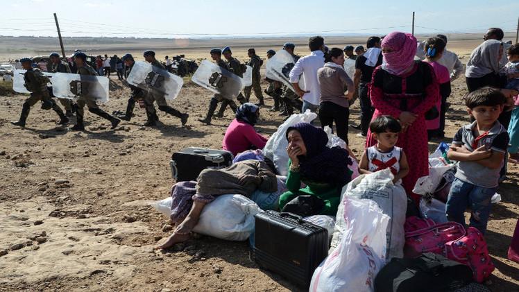 تركيا تفتح حدودها لآلاف الأكراد السوريين الفارين