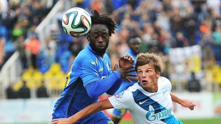 زينيت يحقق انتصاره الثامن في الدوري الروسي بعد سحقه رستوف 5-0