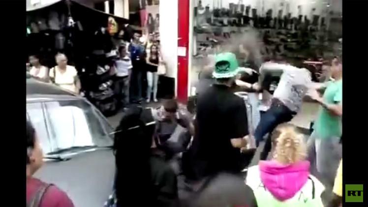 بالفيديو.. مقتل تاجر بالرصاص في شوارع ساو باولو