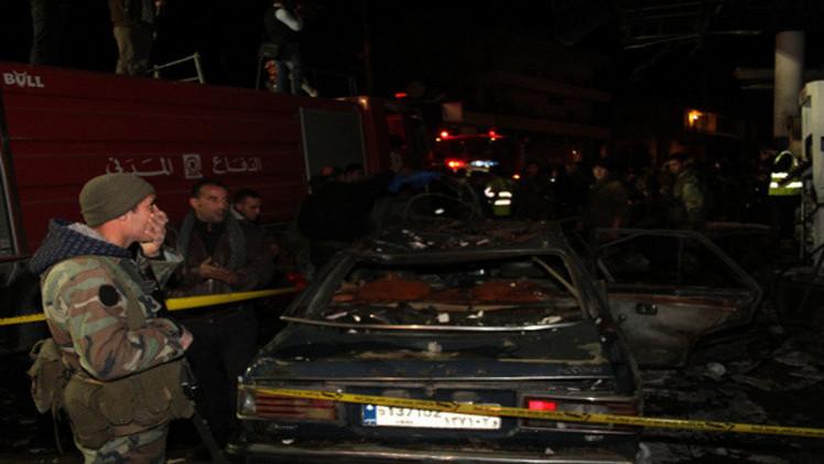 مراسلنا: مقتل 3 أشخاص في تفجير انتحاري بالبقاع اللبناني