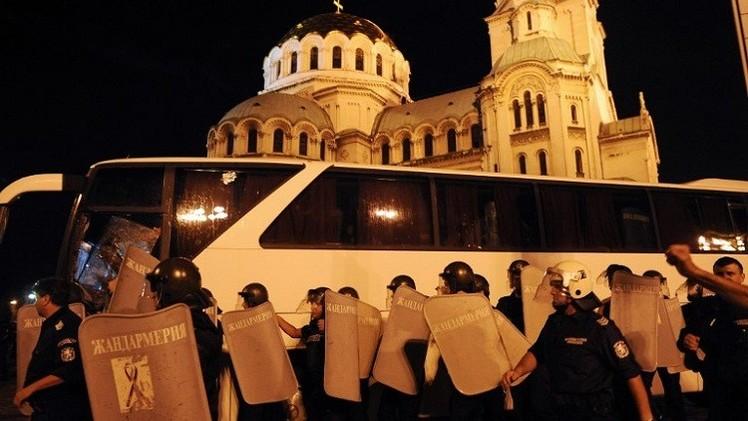 اشتباكات بين الشرطة البلغارية ومشجعي فريق لوكوموتيف