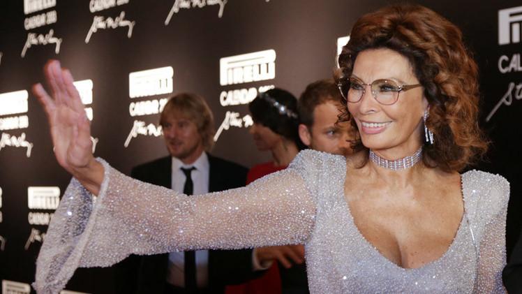 صوفيا لورين تحتفل بعيد ميلادها الـ 80