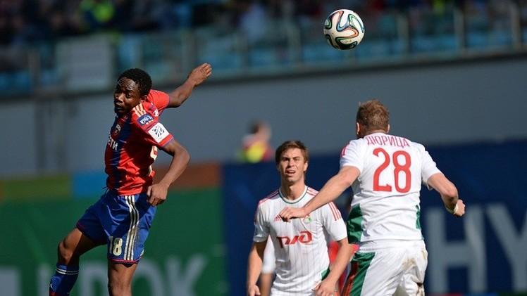 تسيسكا موسكو ينجح في الديربي ويهزم لوكوموتيف 1-0