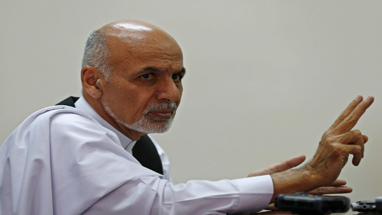 أشرف غني رئيسا لأفغانستان