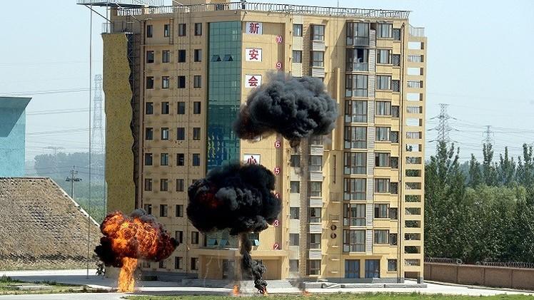 الصين.. مقتل شخصين وإصابة العديد في سلسلة انفجارات بمنطقة شينجيانغ في الصين