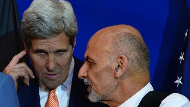 كيري يأمل في توقيع اتفاق أمني مع أفغانستان قريبا