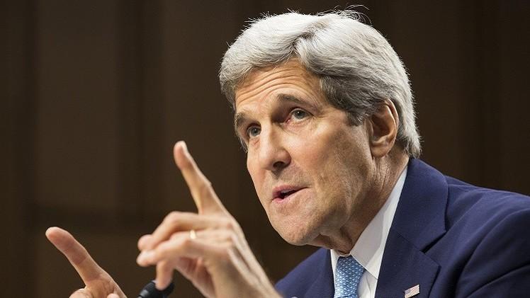 كيري: تمويل المسلحين في العراق وسورية لا يزال مستمرا من بعض دول المنطقة