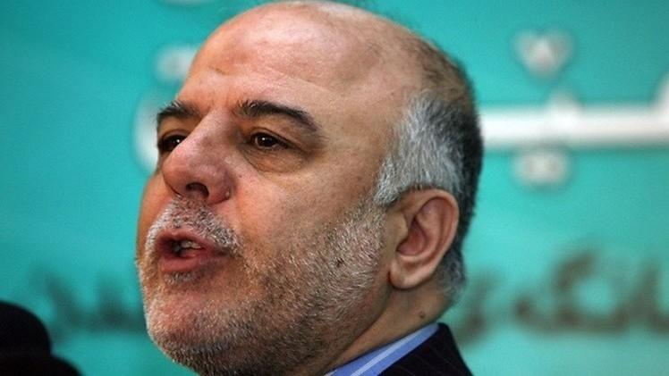 العبادي يجدد رفض العراق أي تدخل بري لقتال