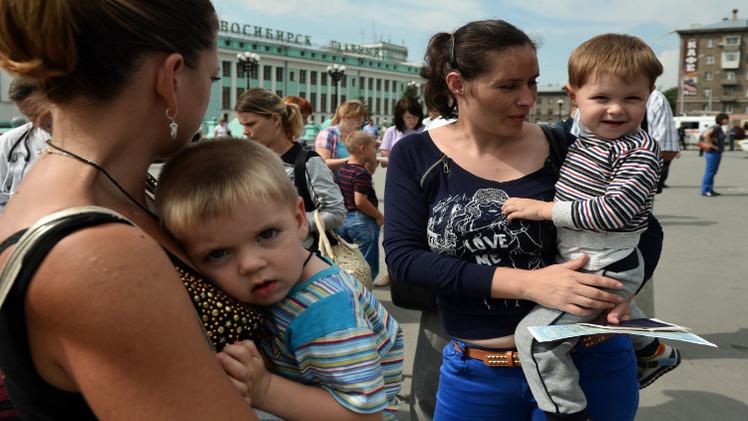 30 % من اللاجئين الأوكرانيين يريدون البقاء في روسيا بصفة دائمة