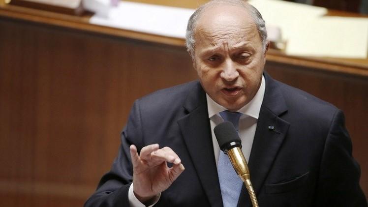 فابيوس:  لن ننفذ ضربات جوية في سورية ضد