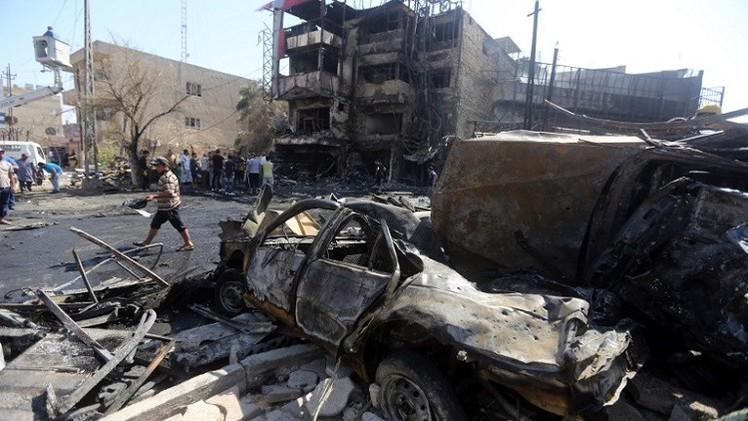 مقتل وإصابة 35 شخصا بتفجير سيارة مفخخة شمال شرق بغداد