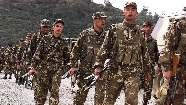 الجيش الجزائري يقضى على