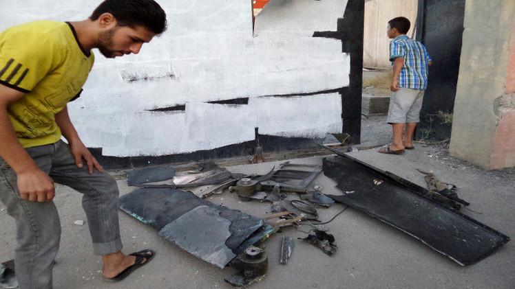سورية.. أنباء عن سقوط طائرة أمريكية بدون طيار في الرقة