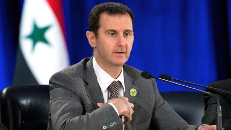 الأسد يعلن تأييده لأي جهد دولي يصب في مكافحة الإرهاب