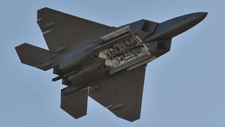 الولايات المتحدة تستخدم لأول مرة طائرات F-22  في قصفها