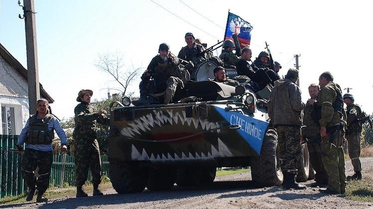 قوات الدفاع الشعبي بدونيتسك تبدأ تنفيذ بنود مذكرة مينسك