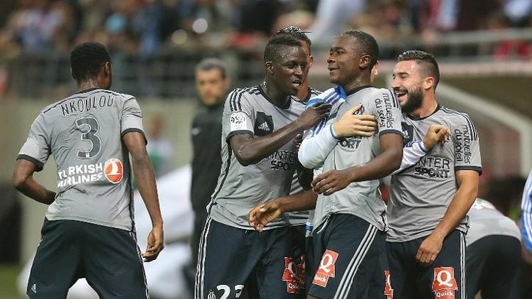 مرسيليا ينفرد بصدارة الدوري الفرنسي