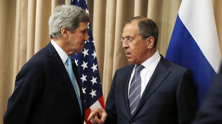 لافروف يلتقي كيري على هامش جلسات الجمعية العامة للأمم المتحدة