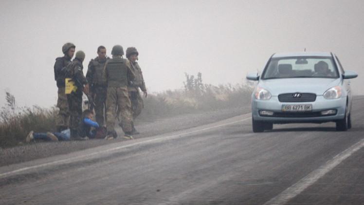 الخارجية الروسية: نصر على التحقيق في جرائم حرب محتملة بشرق أوكرانيا