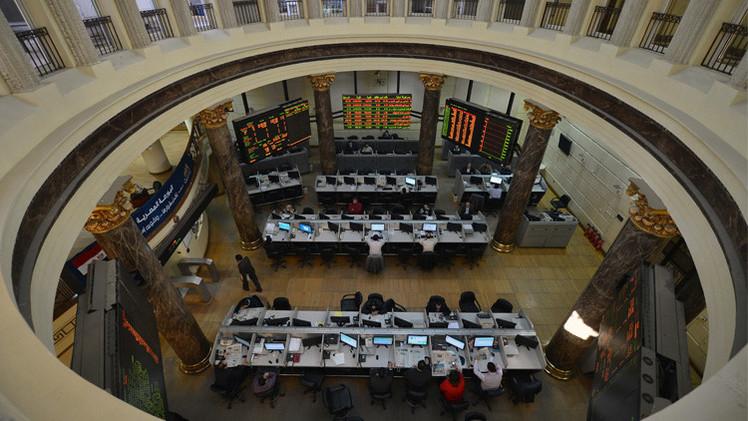 مؤشرات البورصة المصرية  تتراجع في تداولات الاربعاء