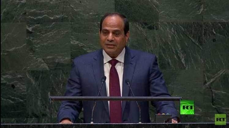 السيسي: الشعب المصري رفض طغيان فئة باسم الدين